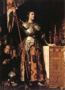 Joan of Arc at the Coronation of Charles VII in Reims