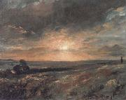 John Constable Hampstead Heath oil painting reproduction