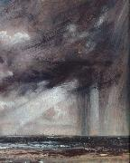 John Constable Rainstorm over the sea oil painting artist