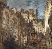 Cowdray House:The Ruins 14 Septembr 1834