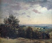 View from Hampstead Heath,Looking West