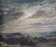 View from Hampstead Heath,Looking towards Harrow August 1821
