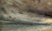 John Constable Stormy Sea,Brighton 20 july 1828