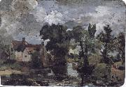 John Constable The Mill Stream oil painting artist