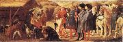 MASACCIO Adoration of the Magi oil painting reproduction