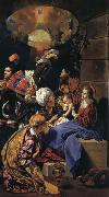 Maino, Juan Bautista del Adoration of the Magi oil painting