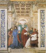 Sixtus IV,his Nephews and his Librarian Palatina