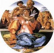 Michelangelo Buonarroti Holy Family oil painting reproduction