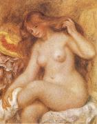 Bather with Long Blonde
