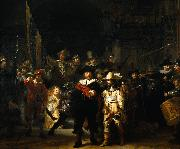 REMBRANDT Harmenszoon van Rijn The Night Watch oil painting reproduction