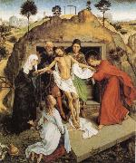 Roger Van Der Weyden Entombment oil painting reproduction