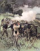 Field Artillery in Action