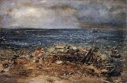 William Mctaggart The Emigrants oil painting on canvas