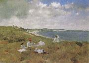 William Merrit Chase Leisure oil painting artist