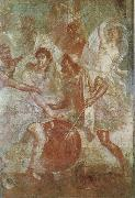 Wall painting from the House of the Dioscuri at Pompeii