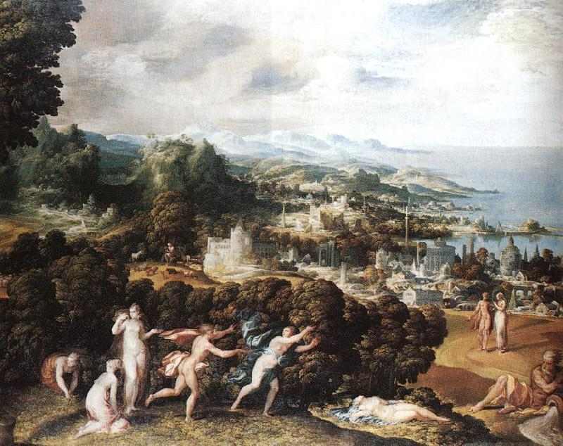 ABBATE, Niccolo dell Orpheus and Eurydice