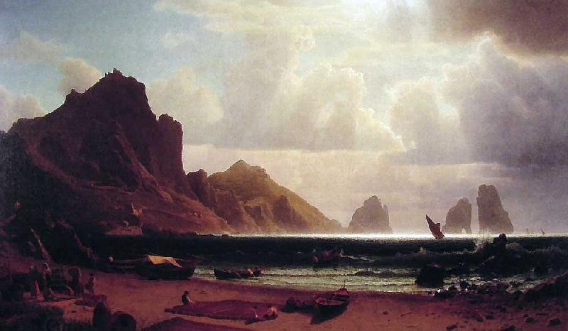 Albert Bierstadt The Marina Piccola