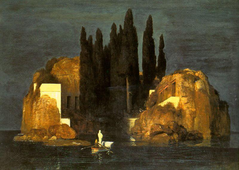 Arnold Bocklin The Isle of the Dead