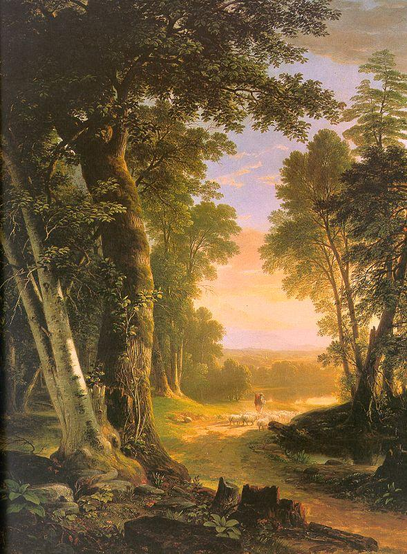 Asher Brown Durand The Beeches