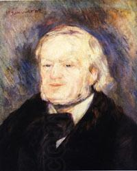 Auguste renoir Richard Wagner,January