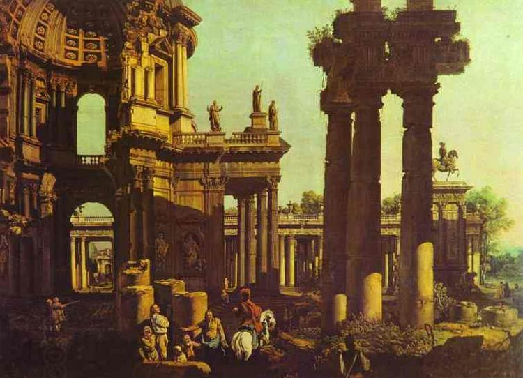 Bernardo Bellotto Ruins of a Temple