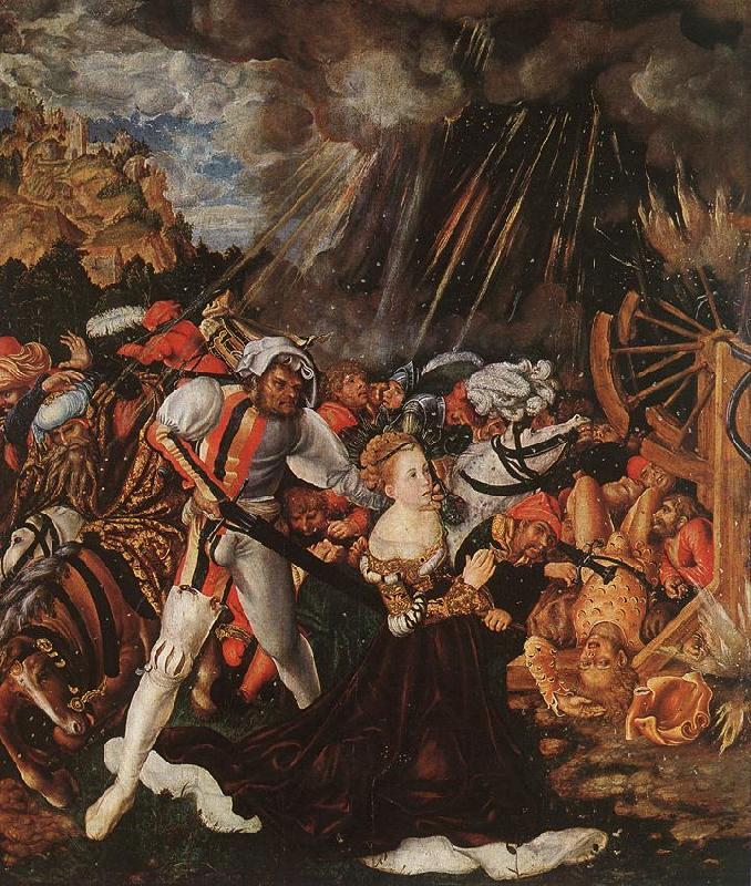 CRANACH, Lucas the Elder The Martyrdom of St Catherine gdf