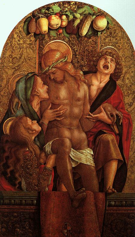 Carlo Crivelli Lamentation over the Dead Christ China oil painting art