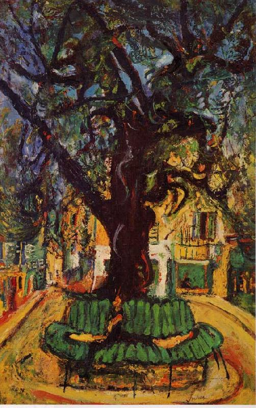 Chaim Soutine Small Place in the Town