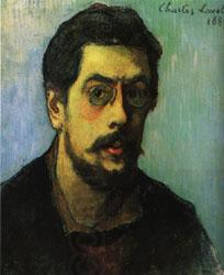 Charles Laval self-Portrait oil painting picture