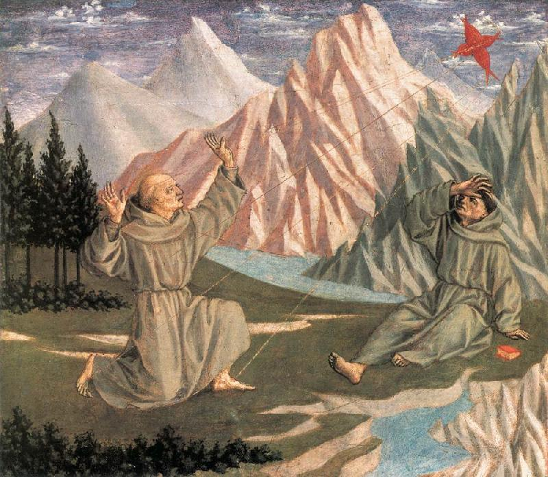 DOMENICO VENEZIANO The Stigmatization of St Francis (predella 1) df