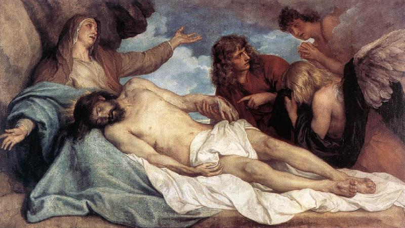 DYCK, Sir Anthony Van The Lamentation of Christ  fg