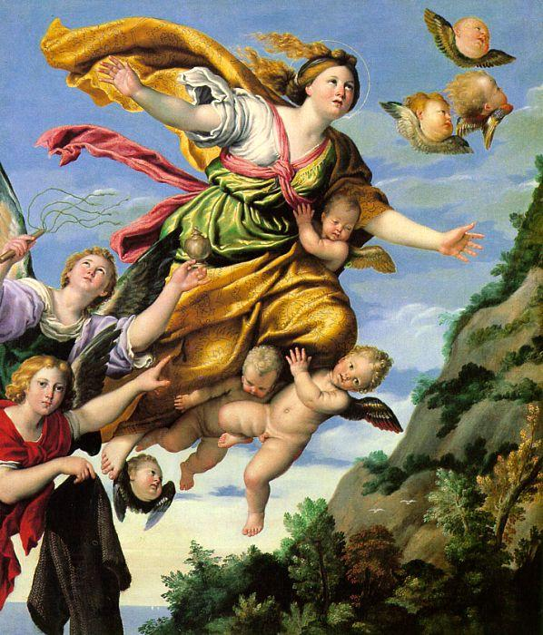 Domenichino The Assumption of Mary Magdalene into Heaven China oil painting art