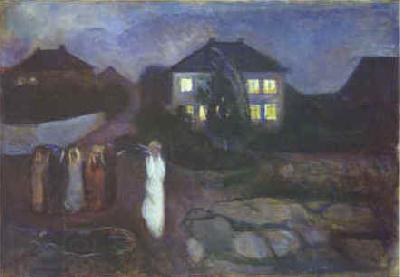 Edvard Munch The Storm