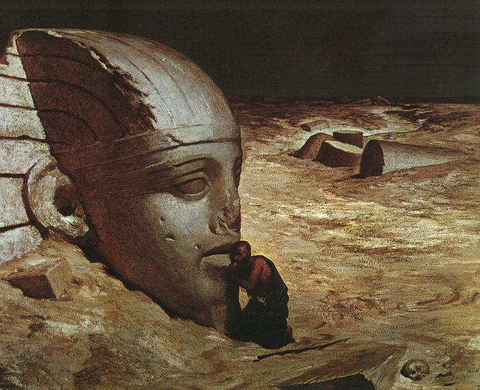 Ehilu Vedder Listening to the Sphinx