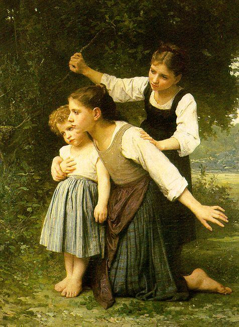 Elizabeth Gardner Bouguereau In The Woods