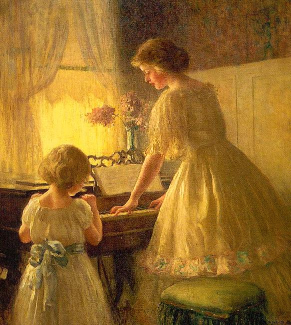 Francis Day The Piano Lesson