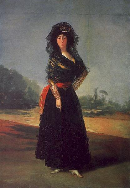 Francisco de Goya Portrait of the Duchess of Alba