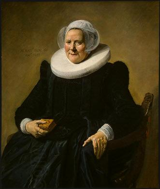 Frans Hals Portrait of an Elderly Lady oil painting picture
