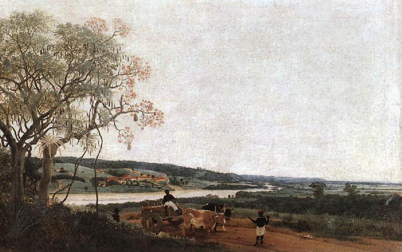 Frans Post Ox Cart