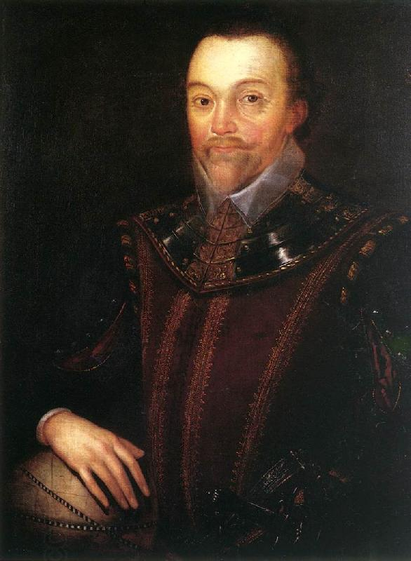 GHEERAERTS, Marcus the Younger Sir Francis Drake dfg