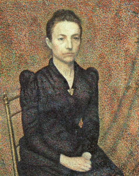 Georges Lemmen Portrait of Sister