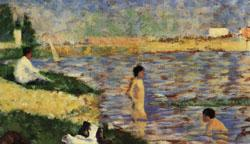 Georges Seurat Les Poseuses China oil painting art