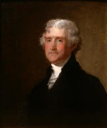 Gilbert Charles Stuart Thomas Jefferson oil painting picture