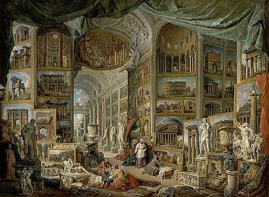Giovanni Paolo Pannini Views of Ancient Rome