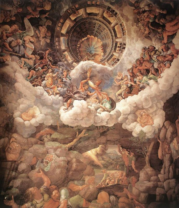 Giulio Romano The Fall of the Gigants sh oil painting picture