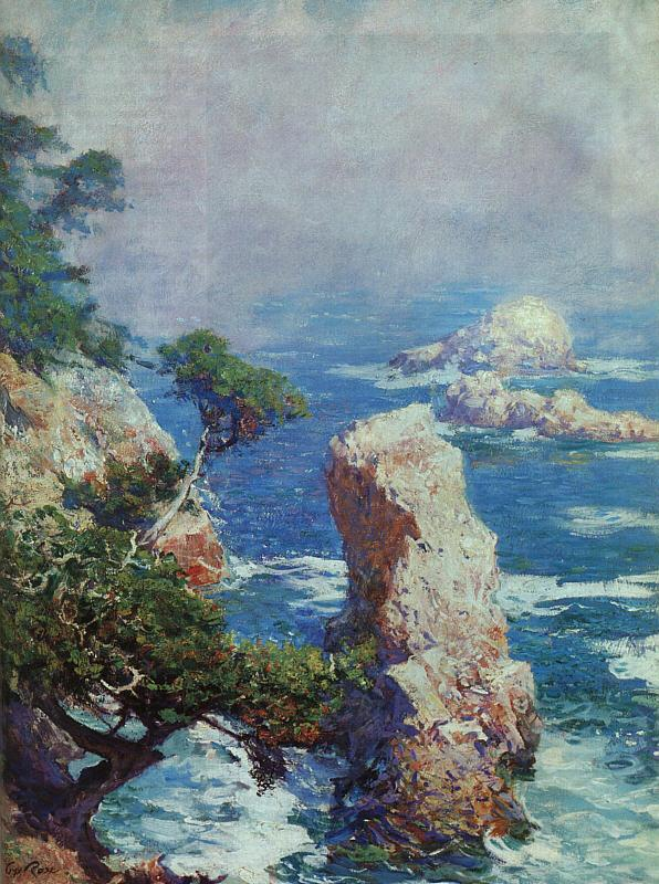 Guy Rose Mist Over Point Lobos