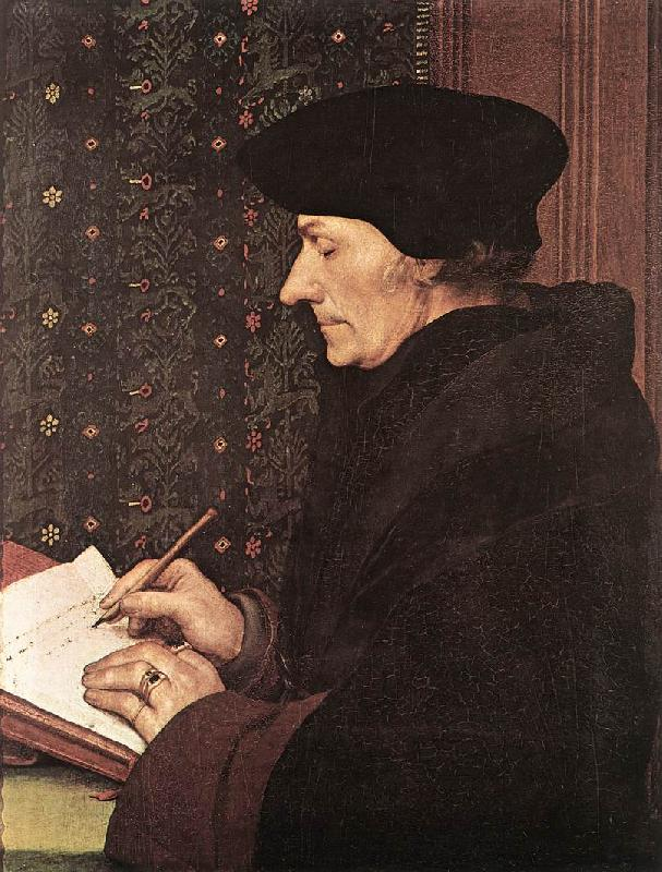 HOLBEIN, Hans the Younger Erasmus f