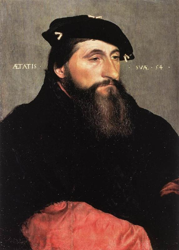 HOLBEIN, Hans the Younger Portrait of Duke Antony the Good of Lorraine sf