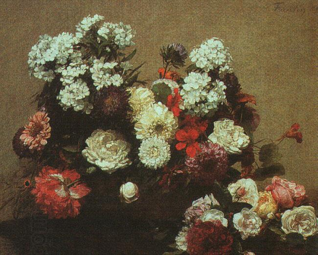 Henri Fantin-Latour Still Life with Flowers  2