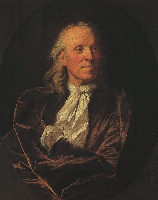 Hyacinthe Rigaud Portrait of a Scholar oil painting picture